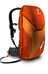 ABS Vario Base Unit Small black Backpack inkl. Vario 8 red-orange